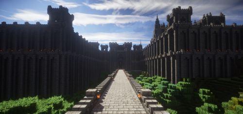 Medieval Stronghold Complex для Minecraft 1.9.4