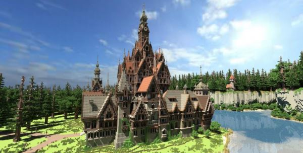 Warhammer : The Burgomeister's Mansion для Minecraft 1.8