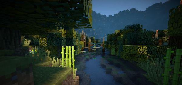 Autumn leaves для Minecraft 1.8