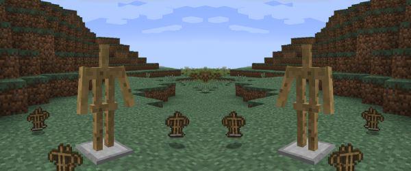 Show Arms Stand для Minecraft 1.8