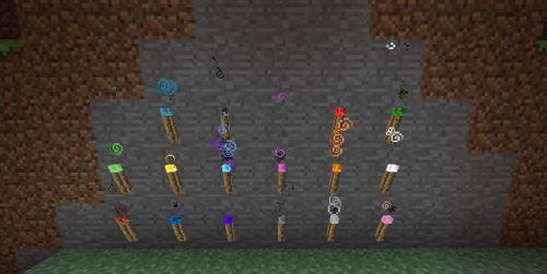 MoreTorches для Minecraft 1.7.10