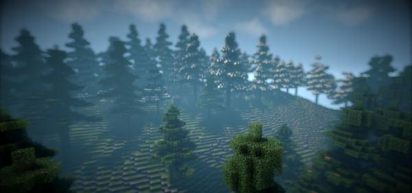 Serenity Forest для Minecraft 1.8