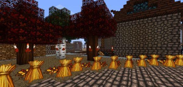 Wolfhound Seasons для Minecraft 1.8