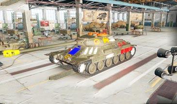 Зоны пробития от Джова для World of Tanks 0.9.16