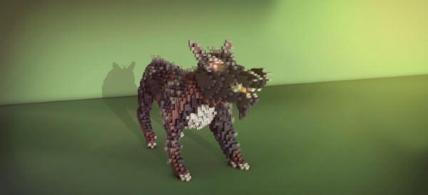 Organic Wolf для Minecraft 1.8