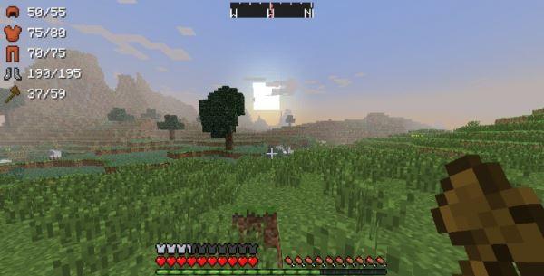 ArmorStatusHUD для Minecraft 1.8