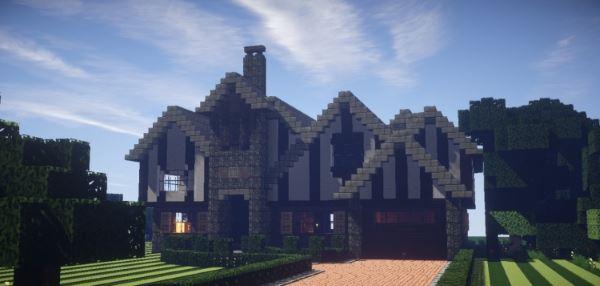 Tudor Mansion для Minecraft 1.8