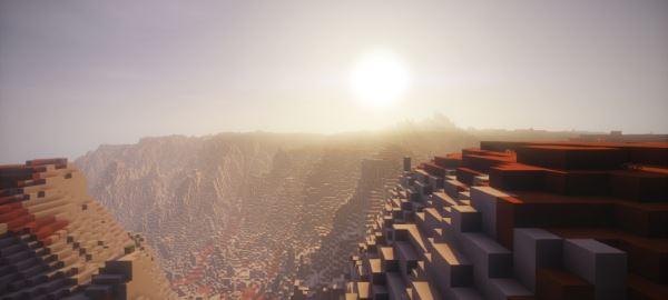 Desert & Vally для Minecraft 1.8