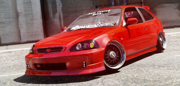 Honda Civic Hatchback для GTA 5