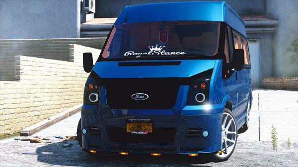 Ford Transit для GTA 5