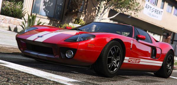 Ford GT для GTA 5