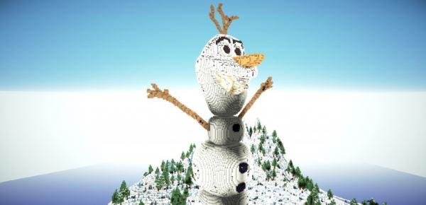 Disney Frozen: Olaf для Minecraft 1.8