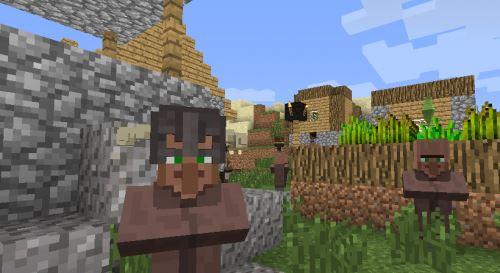 Деревня с маленьким сюрпризом для Minecraft 1.9.4