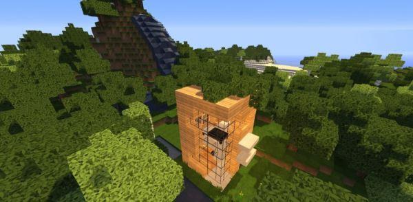 5x5 house для Minecraft 1.8
