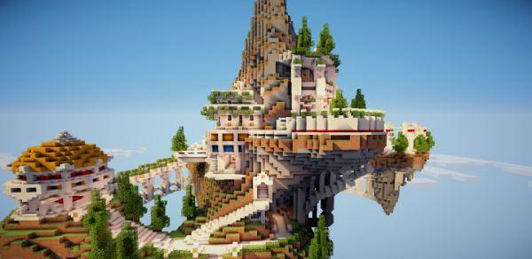 Skylands для Minecraft 1.9.4