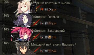 Иконки экипажа Аниме (Все нации) для World of Tanks 0.9.16