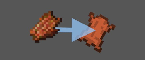 Rotten Flesh to Leather для Minecraft 1.7.10