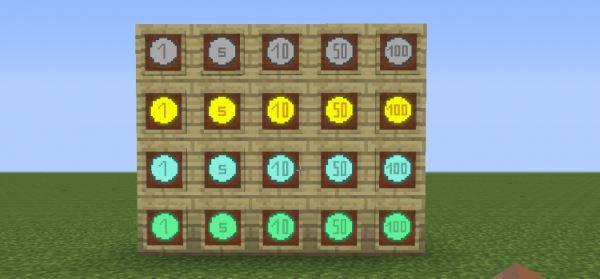 Money Mod для Minecraft 1.7.10