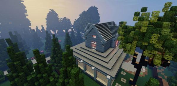 Victorian Home для Minecraft 1.8