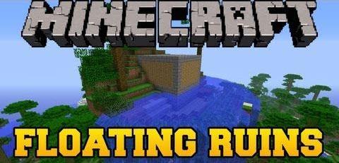 Floating Ruins для Minecraft 1.8