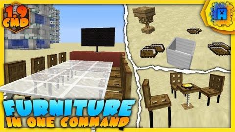 Furniture Command Block для Minecraft 1.9.4