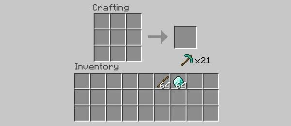 One click crafting для Minecraft 1.9.4
