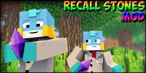 Recall Stones для Minecraft 1.9.4