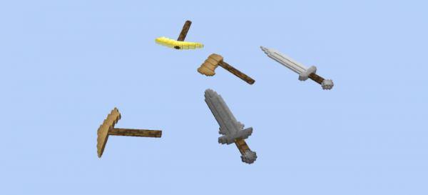 Glitch's 3D Addons Pack для Minecraft 1.9.4