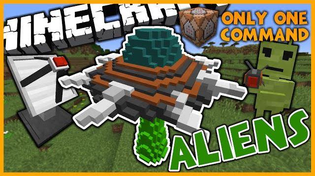 Aliens 1.10 для Minecraft