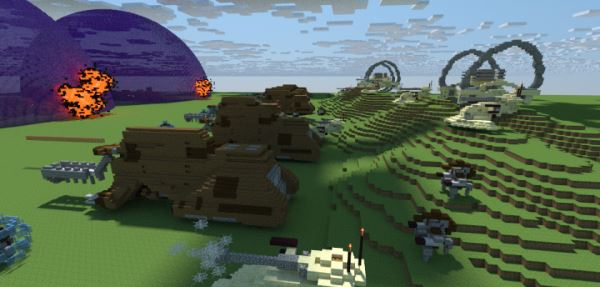 Battle of Naboo для Minecraft 1.9.4