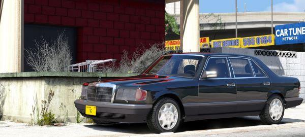 Mercedes-Benz 560SEL для GTA 5