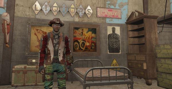 Nuclear Cowboy для Fallout 4