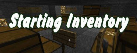 Starting Inventory для Minecraft 1.8