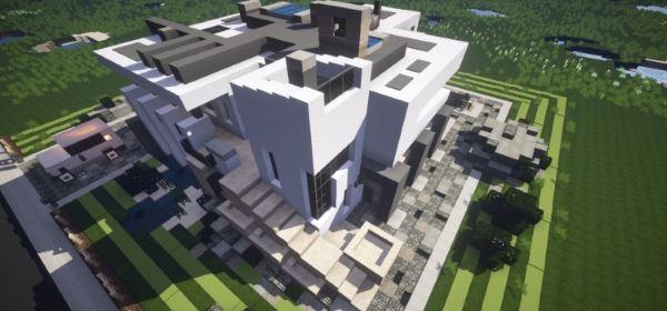 Phased - Modern house для Minecraft 1.8