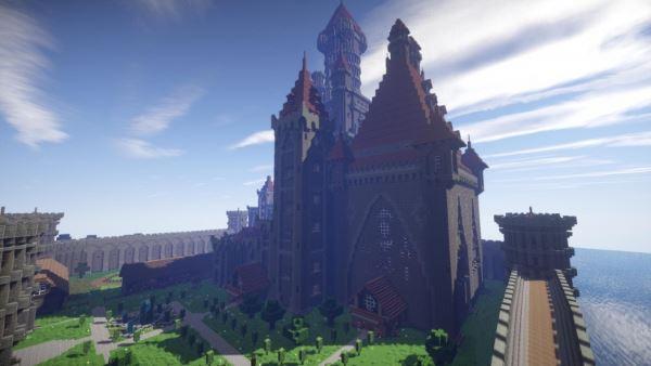 Castle Karazhan для Minecraft 1.8