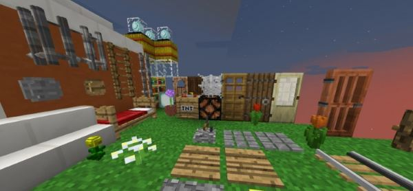 SpiderPack 3D для Minecraft 1.8.1