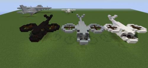 Avatar Helicopter для Minecraft 1.8