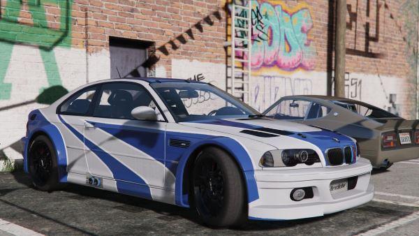 BMW M3 E46 GTR для GTA 5