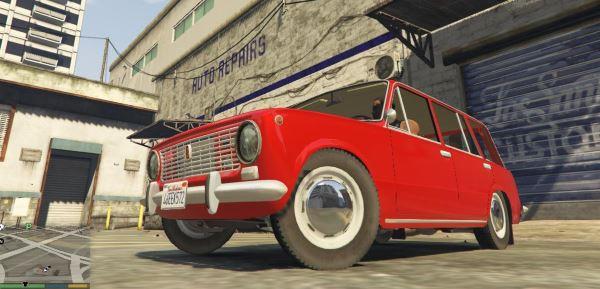 ВАЗ-2102 для GTA 5