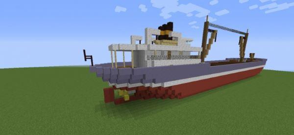 Cargo Ship для Minecraft 1.8