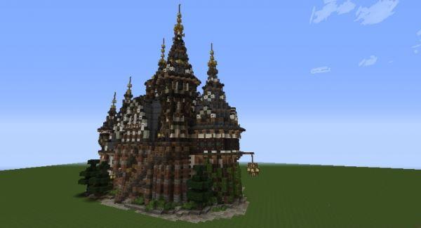 Townhall of Merovia для Minecraft 1.8