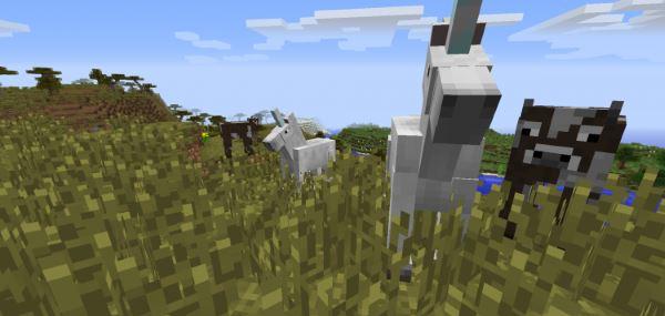 Unicorn для Minecraft 1.7.10