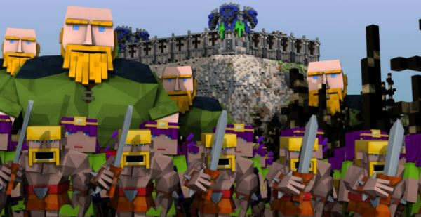 Clash Of Clans by voidswrath для Minecraft 1.7.10