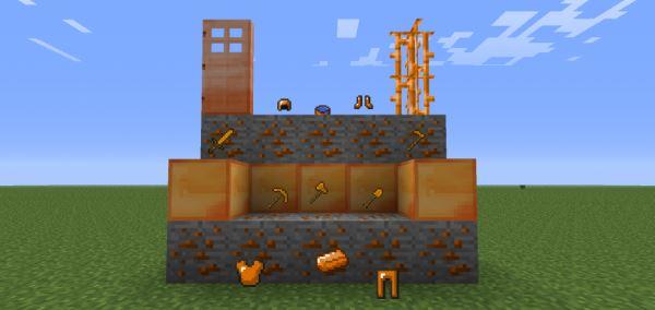 SimpleOres для Minecraft 1.9.4