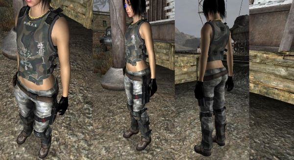 Bella's Armor для Fallout: New Vegas