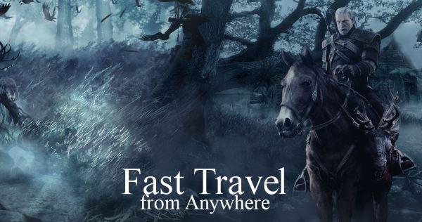 Быстрое перемещение из любого места (Fast Travel from Anywhere) v 1.31 для Ведьмак 3