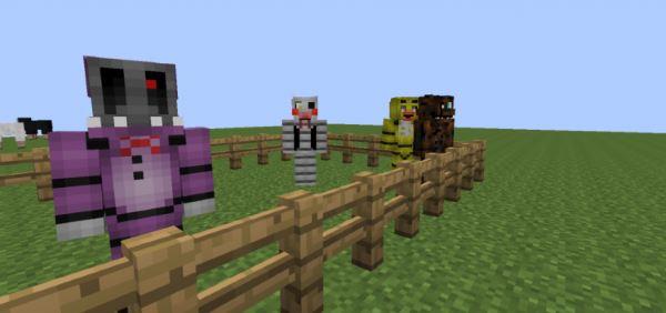 FreddyCraft для Minecraft 1.7.10