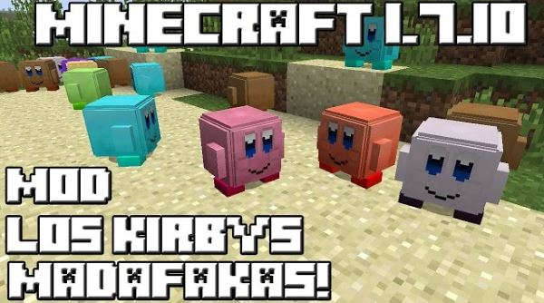 Kirby and Friends для Minecraft 1.7.10