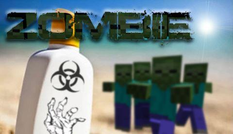 Zombie Sunscreen для Minecraft 1.8