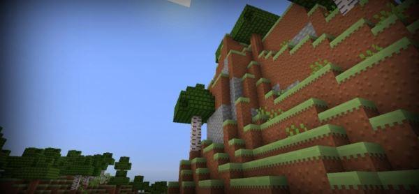Retro Pompeii для Minecraft 1.8